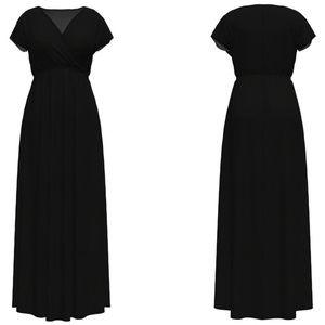 Women's Bella Flore surplice maxi dress